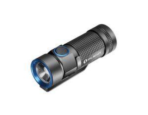 Olight Lampe de poche S1 Baton, Betriebsart: Akkubetrieb, Batteriebetrieb, Leuchtmittel: LED, Wasserfest, Max. Laufzeit: 1500 h, Leuchtweite: 110 m, Lichtstärke: 500 lm, Gewicht: 30 g