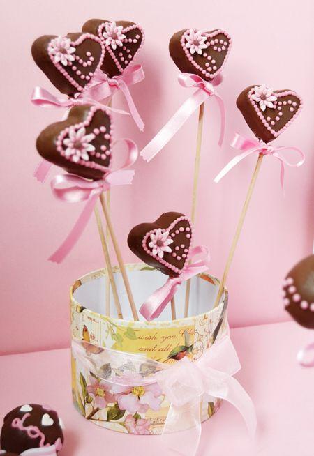 Cupcakes a diario: Cake pops de San Valentín y mi carta de amor a la calefacción...