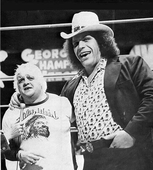 Wrestling (The Good Old Days) Andre the Giant and Dusty Rhodes...