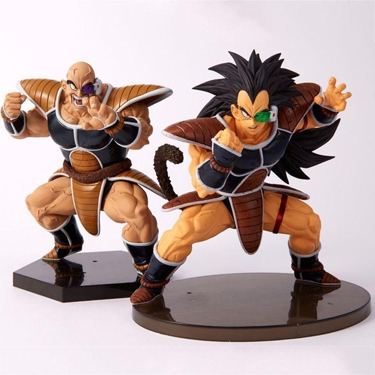 13.50$  Buy now - 2 style Dragon Ball Z Super Saiyan Nappa Goku Raditz Ultimate Form Anime Combat Edition PVC Action Figure Collectible Toys #E  #magazineonlinebeautiful