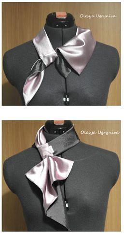 Выкройка французской косынки на шею (Шитье и крой) | Журнал Вдохновение Рукодельницы