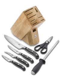 Victorinox 7 Piece Forged Block Set - kitchen knife set