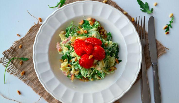 Recept: Stamppot pastinaak met tomaatjes en spekjes