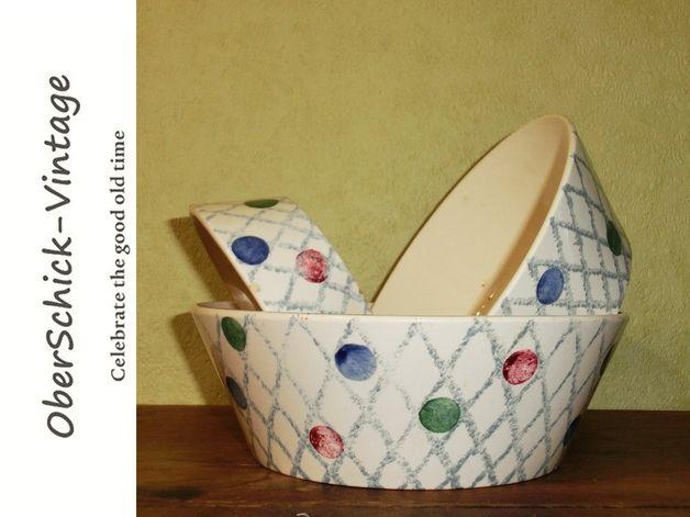 kuchenplatte vintage : http://de.dawanda.com/product/69894623-3er-Set-Schuesseln-50er-J-Dom ...