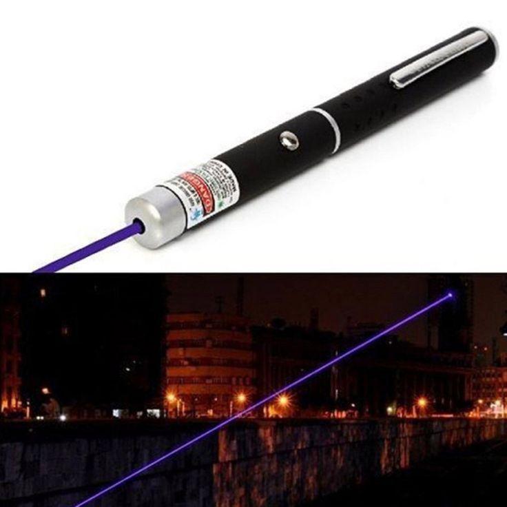2017 NOUVEAU Puissant Bleu/Violet Pointeur Laser Pen Faisceau de Lumière 5 mw 405nm Professionnel Lazer Pointeur Pen Faisceau de Lumière