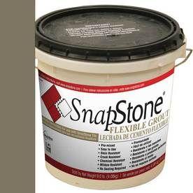 Snapstone 9-Lb Bark Urethane Premixed Grout 11-207-02-01
