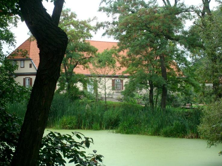 Stachówko - dwór i park