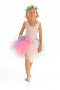 Rainbow Tutu Skirt www.princessdresses.com.au