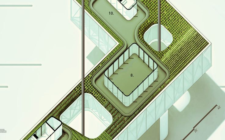 Oblique Floor Plans - Alex Hogrefe (Visualizing Architecture)