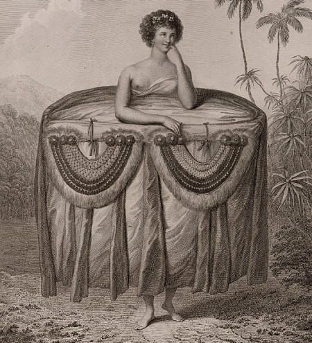 John Webber, Francesco Bartolozzi. A Young Woman of Otaheite, bringing a Present. From Captain James Cook's Voyage to the Pacific Ocean, 1784Courtesanmistressrasc