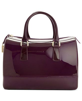 Furla Handbag, Candy Bauletto Satchel - Satchels - Handbags  Accessories - Macys find more women fashion ideas on www.misspool.com