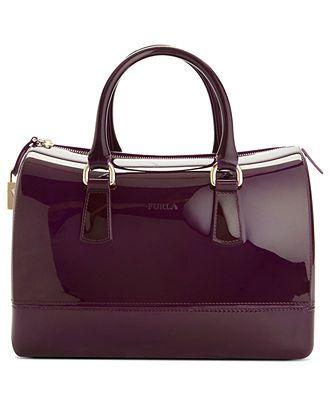 Furla Handbag, Candy Bauletto Satchel - Satchels - Handbags & Accessories - Macy's