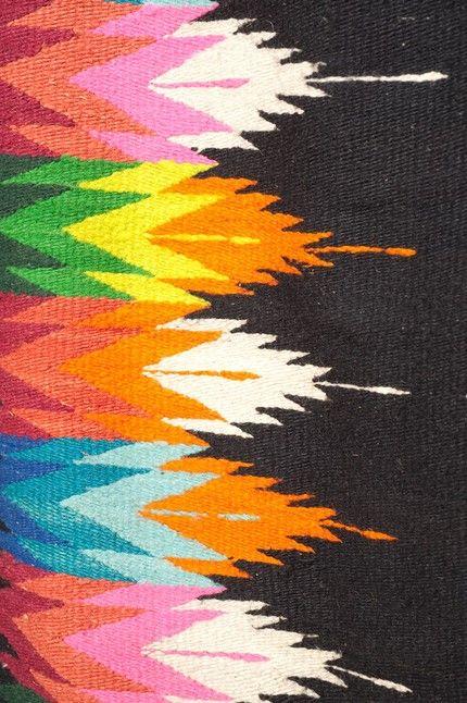 colorful ethnic textile