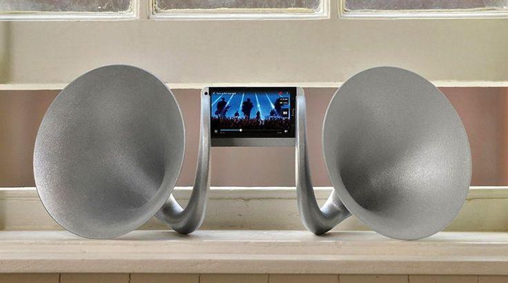 Phone Speakers 3D Print