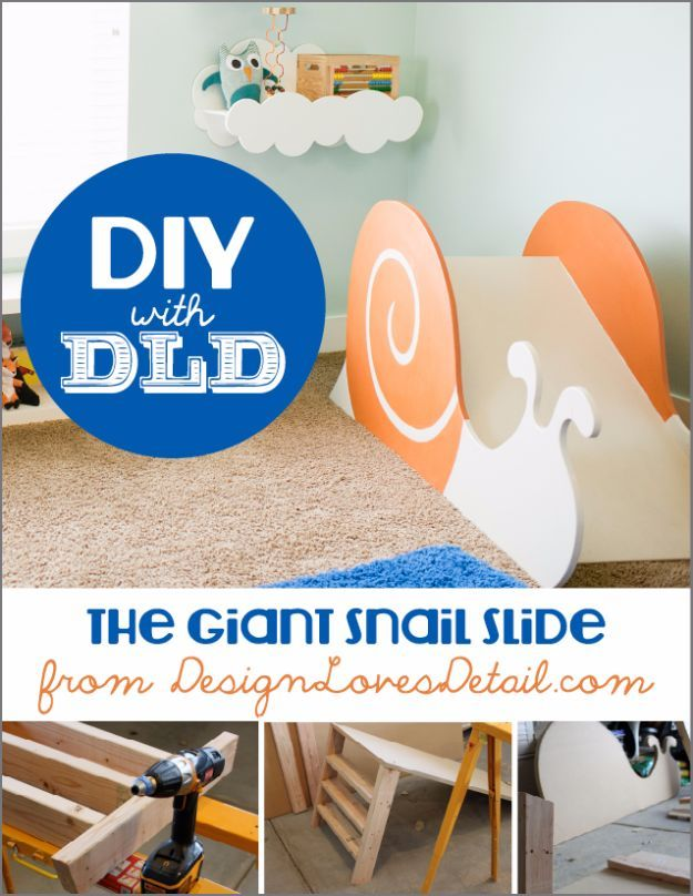 Diy Spielzimmer Ideen Und Mobel Riesenschneckenrutsche Easy Play