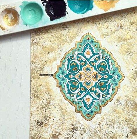 Teshib/Maral taheritari islamic art