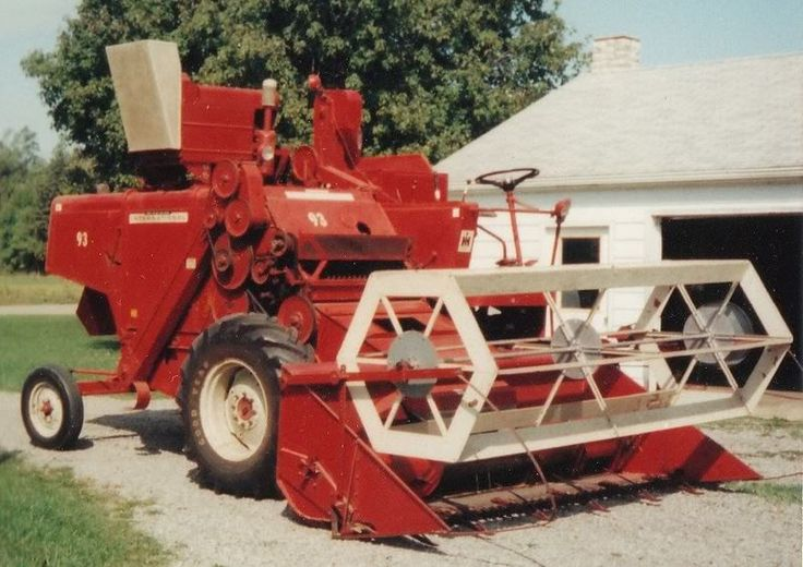 Combine snowblower pic nice 300 hour 93 ih combine for for International harvester room decor