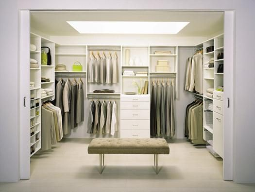 Dream closet. Not even kidding I want my next closet to be the size of a room. In fact, forget a guest room,  that extra bedroom is becoming my closet room.