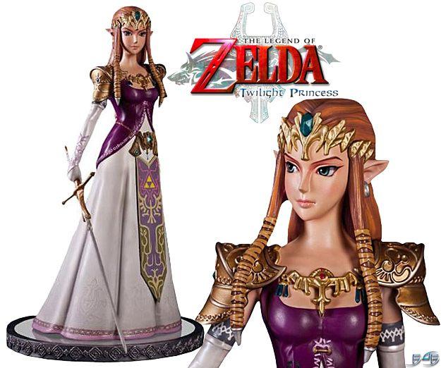 Princess Zelda Master Arts Center Piece