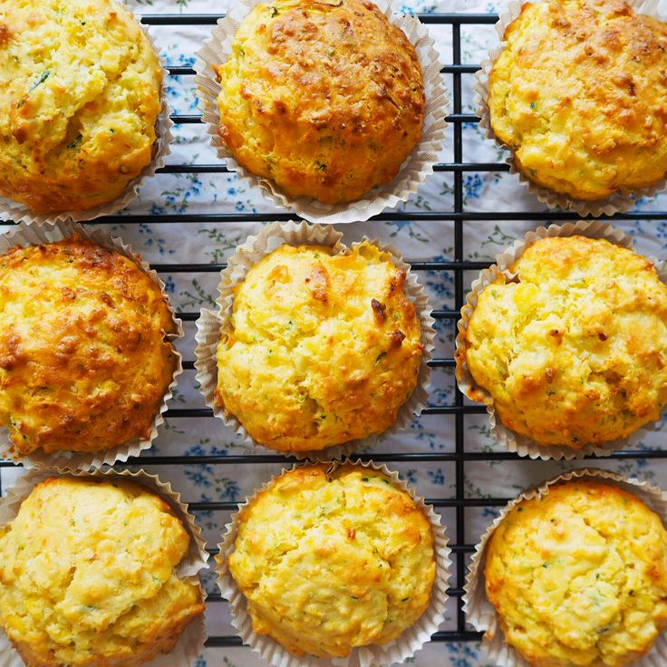 Savory muffins - for snacks or as a side for tomato soup