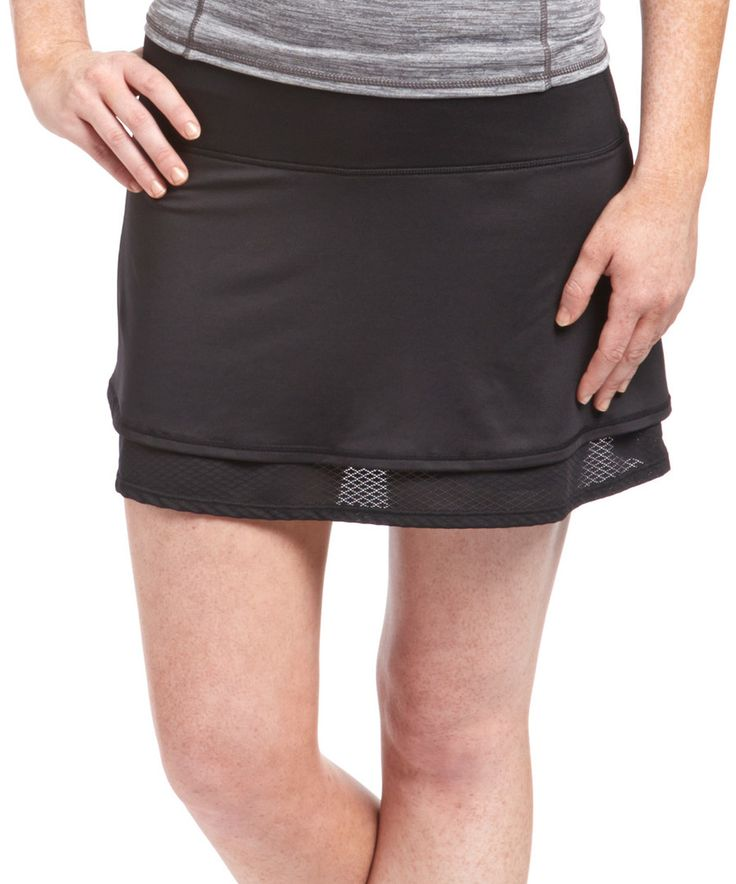 Look at this HEAD Black Photo Finish Skort on #zulily today!