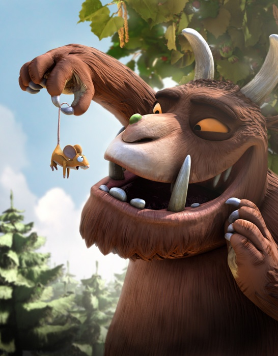 Mouse meets the Gruffalo Thema halloween monsters