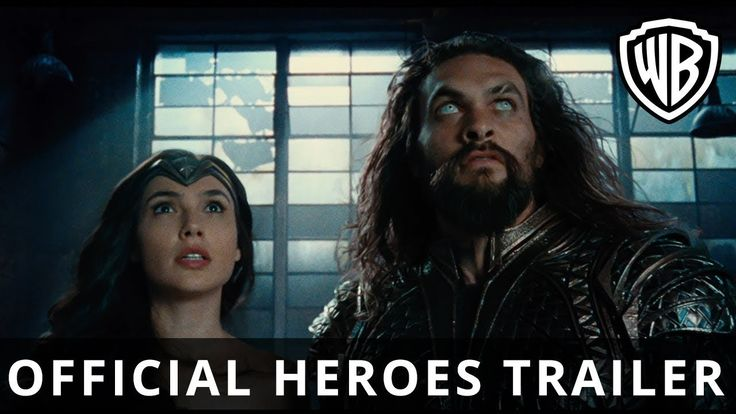 JUSTICE LEAGUE - Official Heroes Trailer  | SDCC Trailer | 2017 [HD]