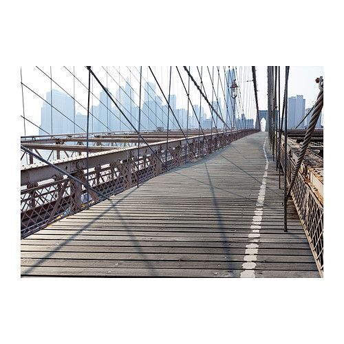 PREMIÄR Picture, Brooklyn Bridge $129.00 Article Number:602.789.43 Motif created by Pierre Sioli. With a large picture you can create mood ...