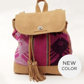 Inca Fuchsia . New color Inca backpack .  Available online #backpack #bag