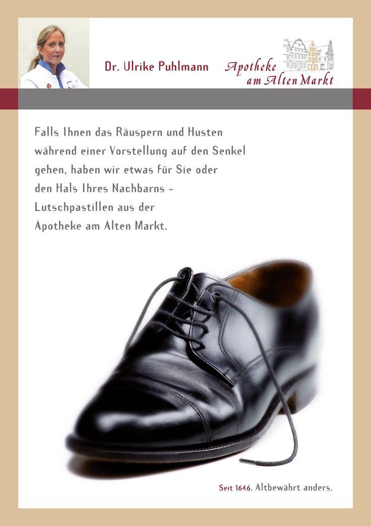 Guter Rat auch bei Kratzen im Hals: http://www.apoam.de/   Medikamente Gesundheit Wohlbefinden Apotheke Bielefeld ApothekeAmAltenmarkt