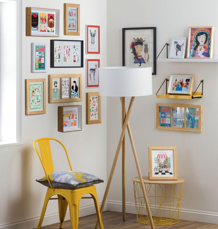 Conviértete en tu propio decorador con toda nuestra variedad de cuadros. Además, puedes dejar volar tu creatividad con nuestras láminas y marcos, para crear tus propios cuadros.