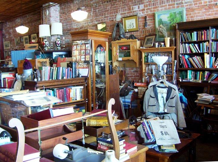A curio shop in Calgary AB Canada Places I like