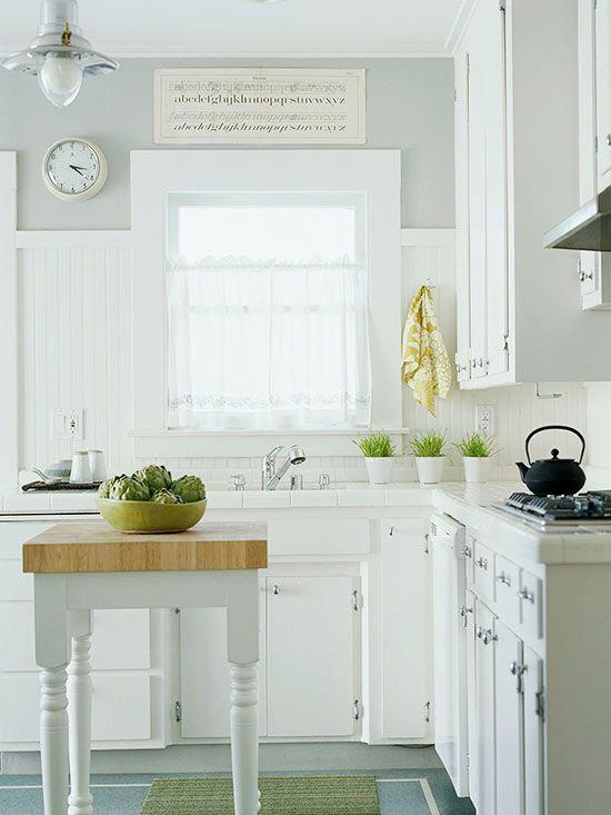 Small-Space Kitchen Island Ideas - Bhg Kitchen project
