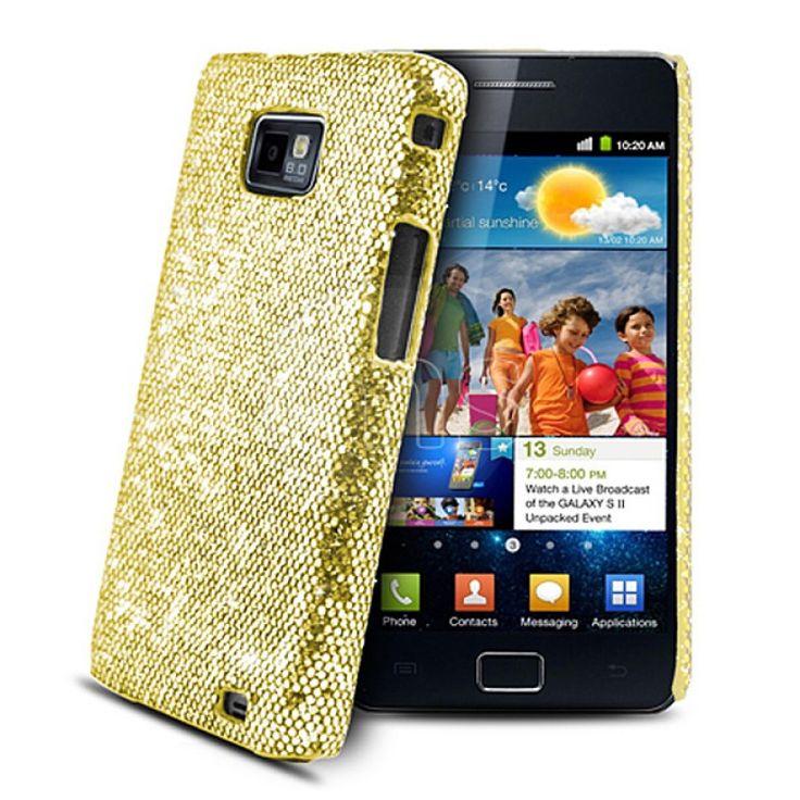 Ds Styles Zirconia - Złote etui dla Samsung GALAXY S2