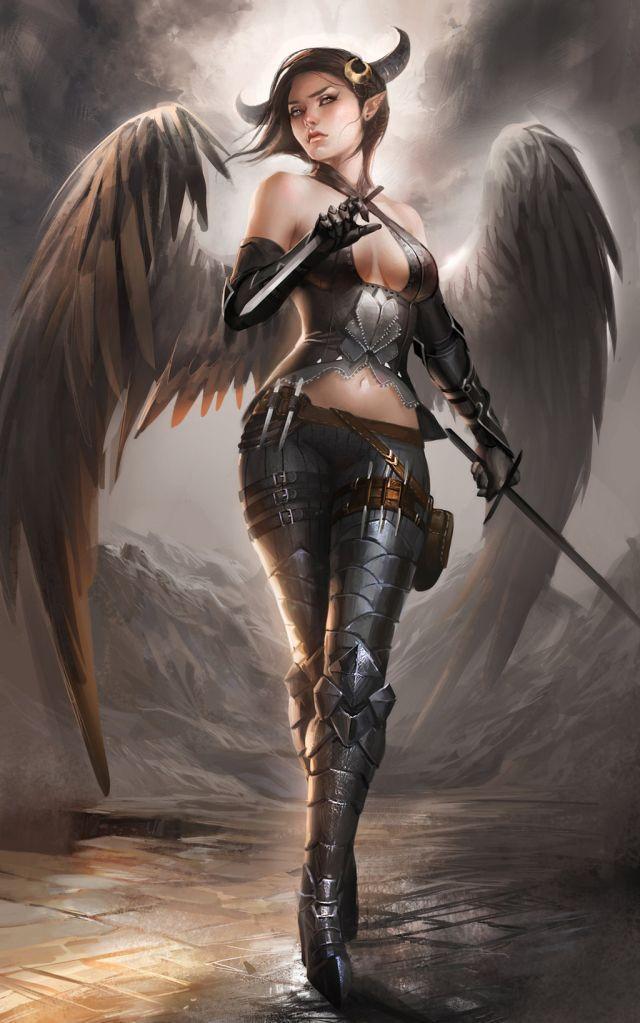 Девушки ангелы голые