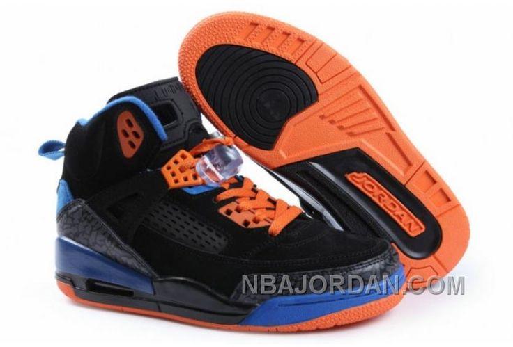 Nike Air Jordan 3.5 Femme Noir/Bleu Discount