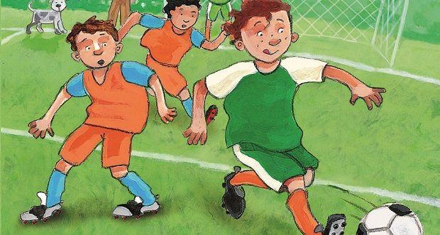 www.kinderboekenjuf.nl - Op zoek naar leuke voetbalverhalen voor beginnende lezers? Dan is dit boek echt een aanrader! Lees hier enkele mini leeslessen bij dit boek.