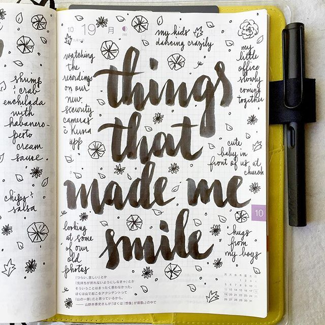 Things that made me smile last week  #lifecapturedproject #journal #artjournal…