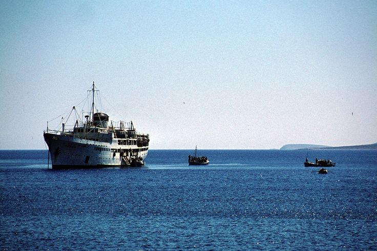 Moments: #Astypalaia - 1975 (recaptured photo from an old card postal by Gerhard Luckner) #visitgreece #greece #aegeansea #vintage
