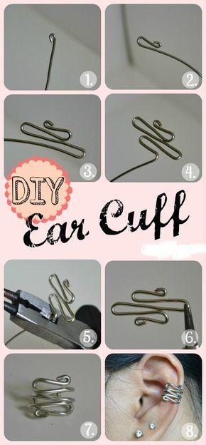 Diy Ear Cuff Tutorial
