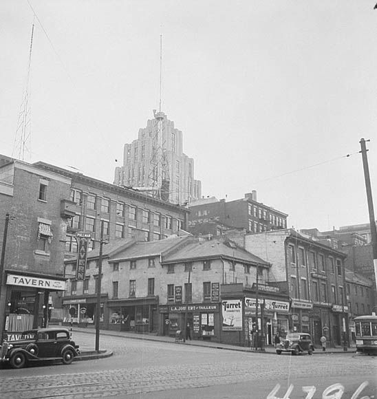 St. Lawrence Boulevard, Montreal, P.Q.  ca 1935