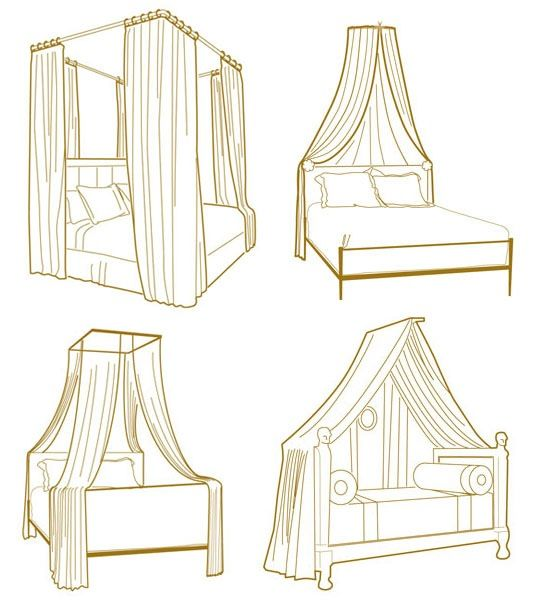 How to make a canopy for a bed!