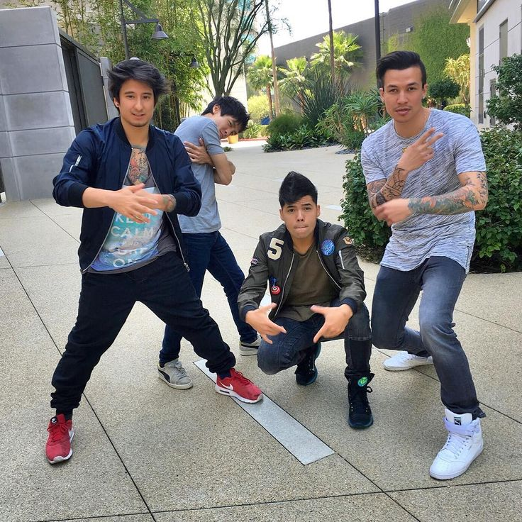 Dtrix, Cheng Loew, Gong Bao and Julien Bam