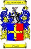 Wolcott Coat of Arms / Wolcott Family Crest - www.4crests.com #coatofarms #familycrest #familycrests #coatsofarms #heraldry #family #genealogy #familyreunion #names #history #medieval #codeofarms #familyshield #shield #crest #clan #badge #geneology #tattoo #ancestry