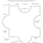 Free!! big puzzle piece for students to fill in as a get to know you activity for the first day of school/social skills group.