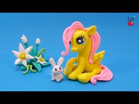 Fluttershy - polymer clay tutorial by Let's clay with Ewa - YouTube