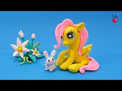 Pequeño Pony de arcilla polimérica