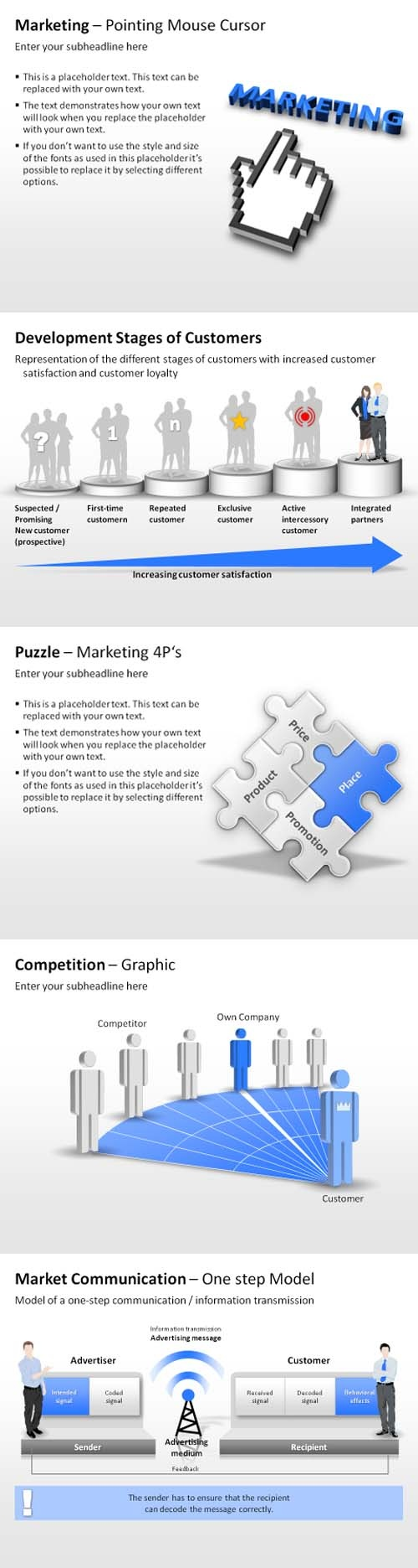 Marketing PowerPoint Templates #powerpoint #business