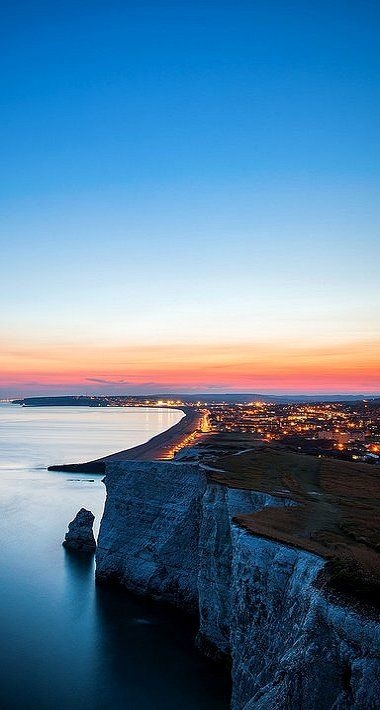 That is kinda scary!!!!!!!!!!!!!!!  Eastbourne, England (by drfugo on Flickr). Check out Brigette's review of W. Somerset Maugham's The Moon And Sixpence here: http://chaptersandscenes.wordpress.com/2014/05/26/brigette-reviews-the-moon-and-sixpence/