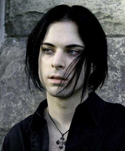 25 Lange Haarschnitte Fur Manner Frisur Frisuren Goth Guys Gothic Men Romantic Goth